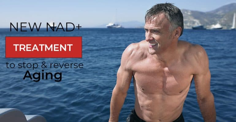 NAD+ to stop and reverse aging